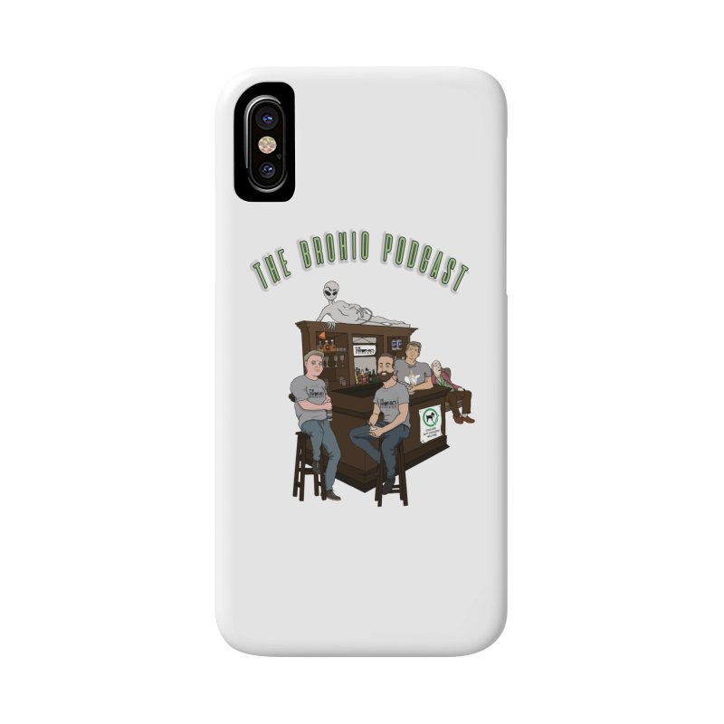 Carton with text Accessories Phone Case by Brohio Merch