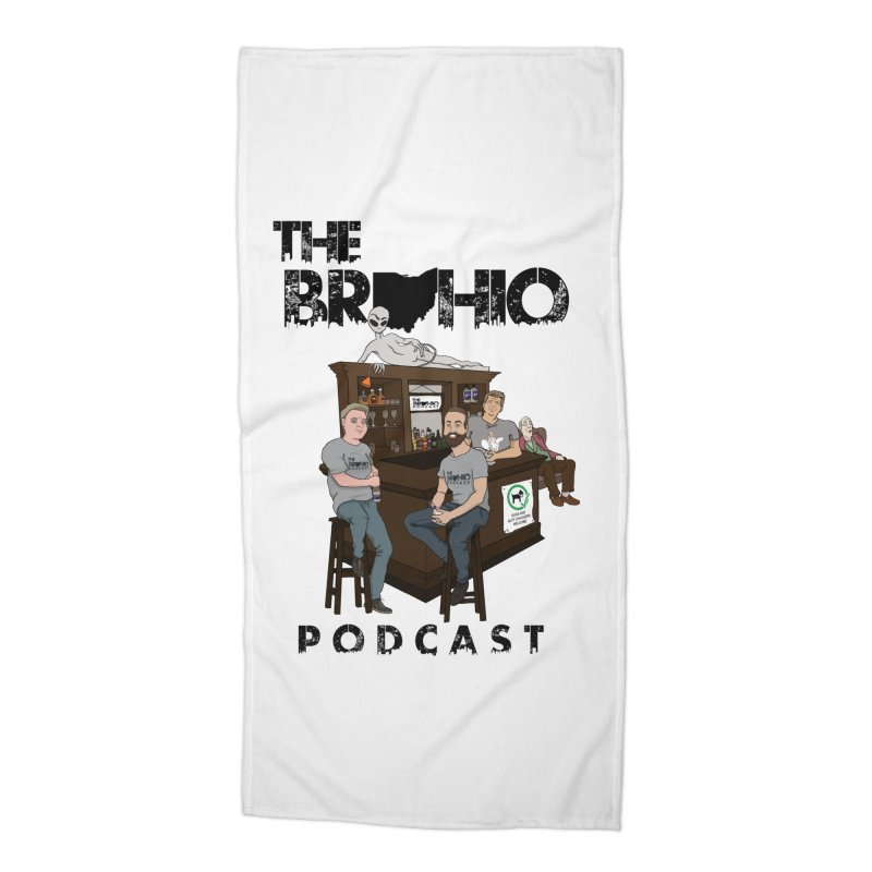 All good things Accessories Beach Towel by Brohio Merch