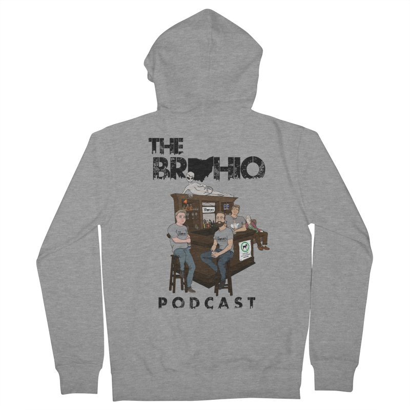 All good things Women's French Terry Zip-Up Hoody by Brohio Merch
