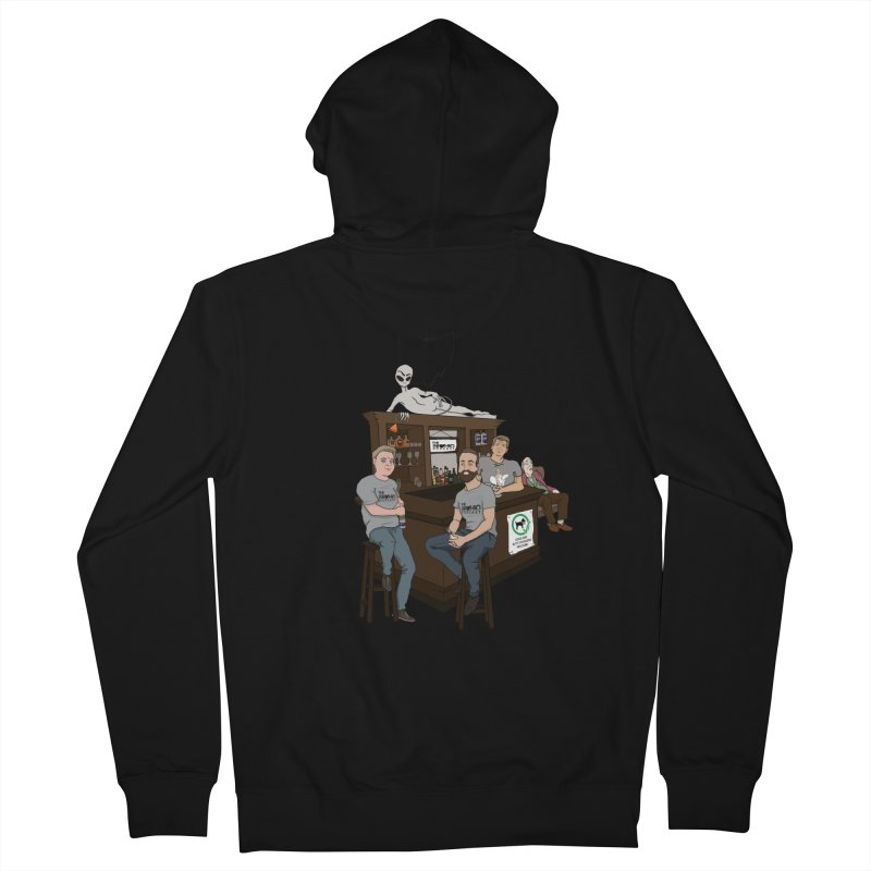 All good things Men's French Terry Zip-Up Hoody by Brohio Merch