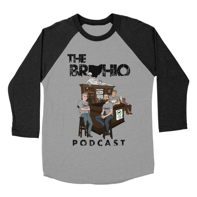 All good things Women's Baseball Triblend Longsleeve T-Shirt by Brohio Merch