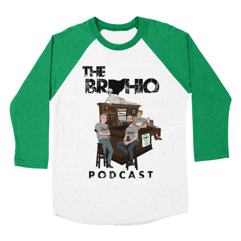 All good things Men's Baseball Triblend T-Shirt by Brohio Merch