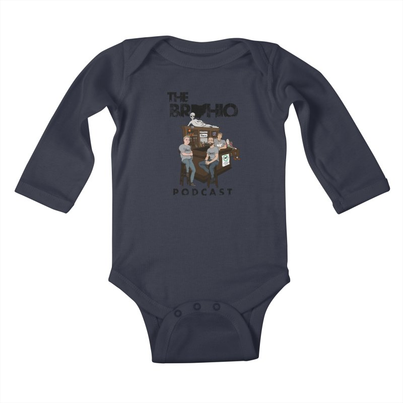 All good things Kids Baby Longsleeve Bodysuit by Brohio Merch