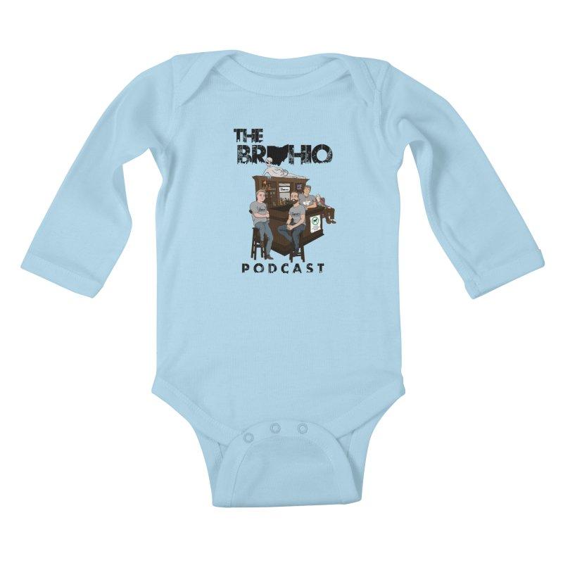 All good things Kids Baby Longsleeve Bodysuit by Brohio Merch