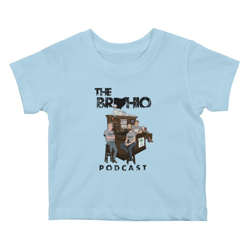 All good things Kids Baby T-Shirt by Brohio Merch