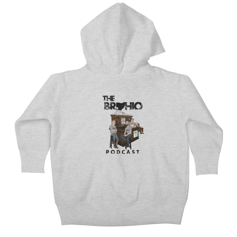 All good things Kids Baby Zip-Up Hoody by Brohio Merch