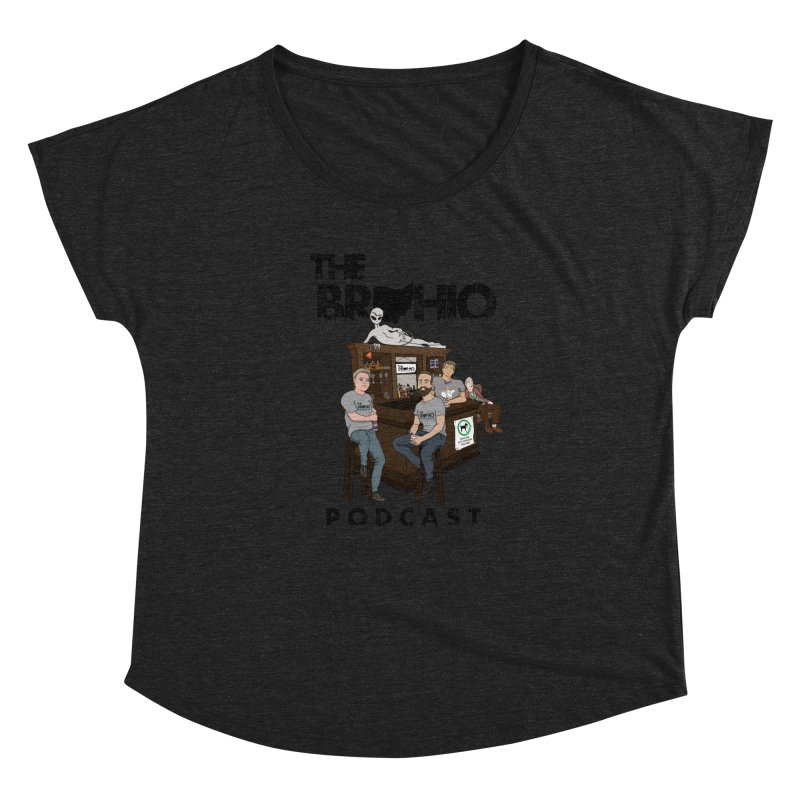 All good things Women's Dolman Scoop Neck by Brohio Merch