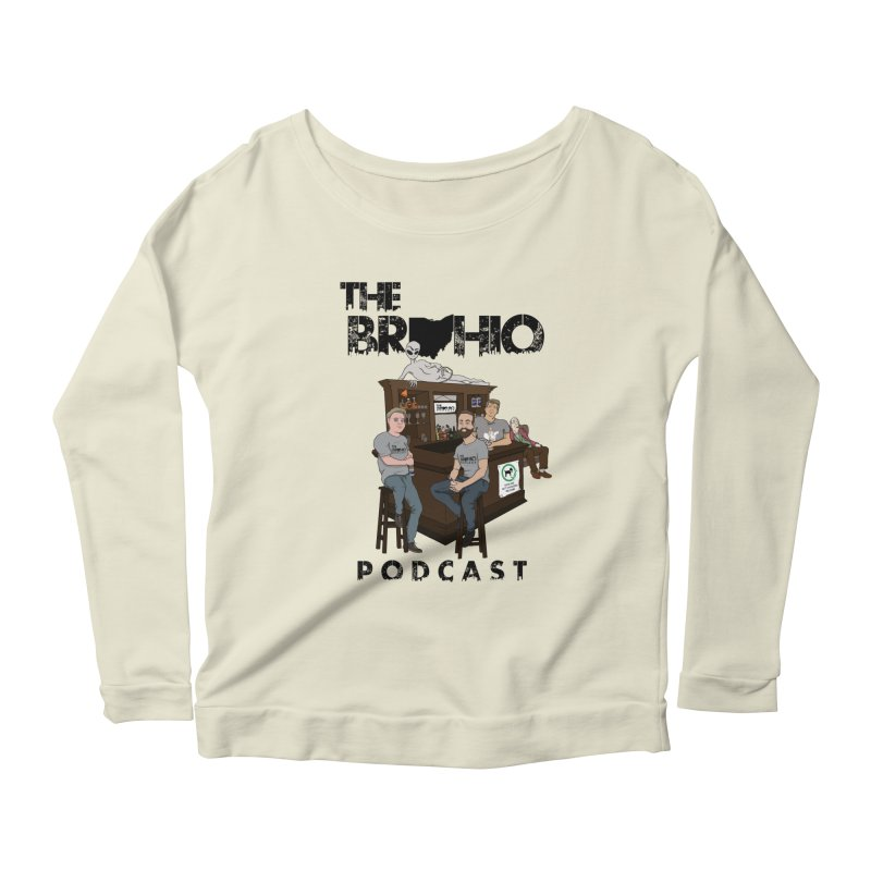 All good things Women's Scoop Neck Longsleeve T-Shirt by Brohio Merch