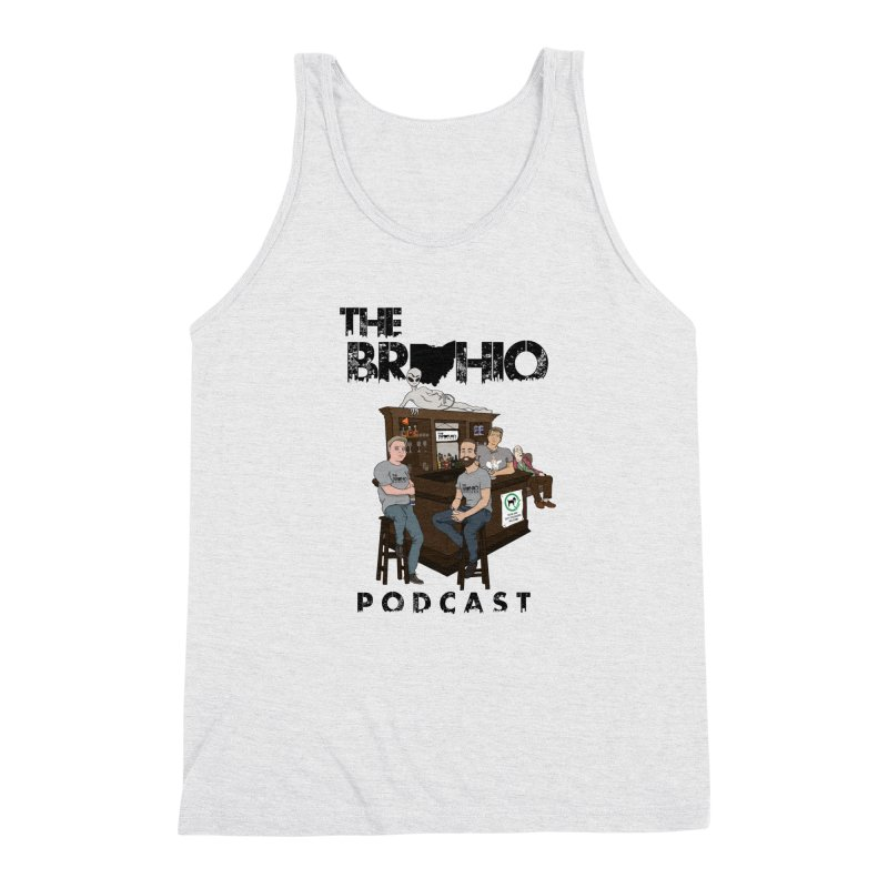 All good things Men's Triblend Tank by Brohio Merch