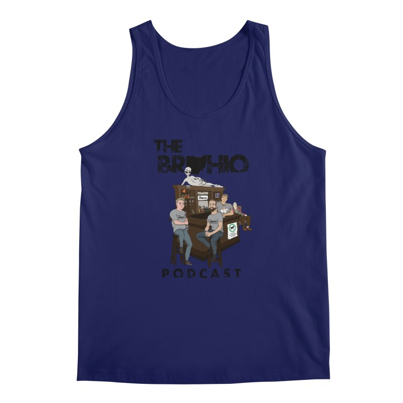 All good things Men's Regular Tank by Brohio Merch