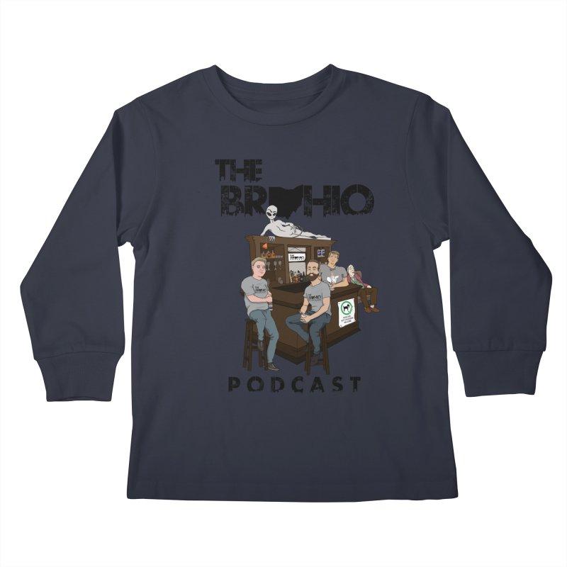 All good things Kids Longsleeve T-Shirt by Brohio Merch