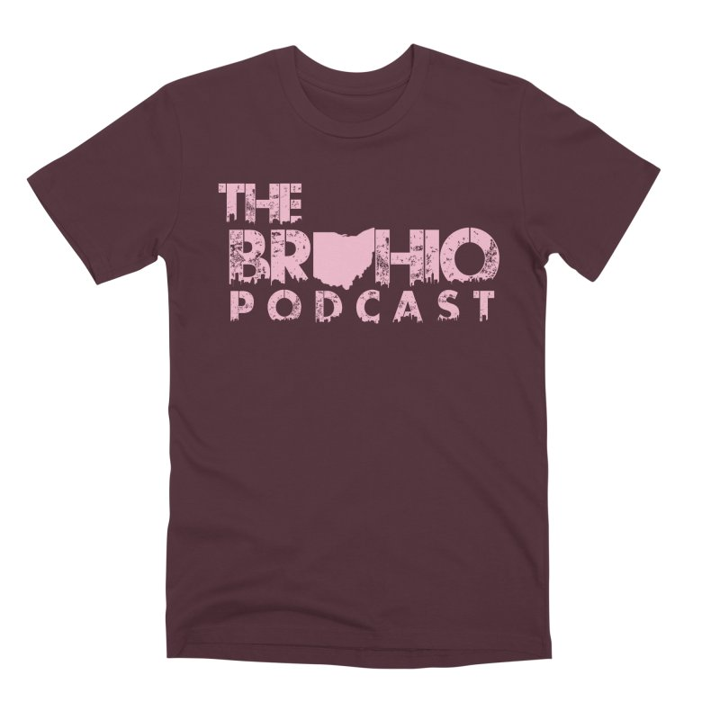 Pink logo Men's Premium T-Shirt by Brohio Merch