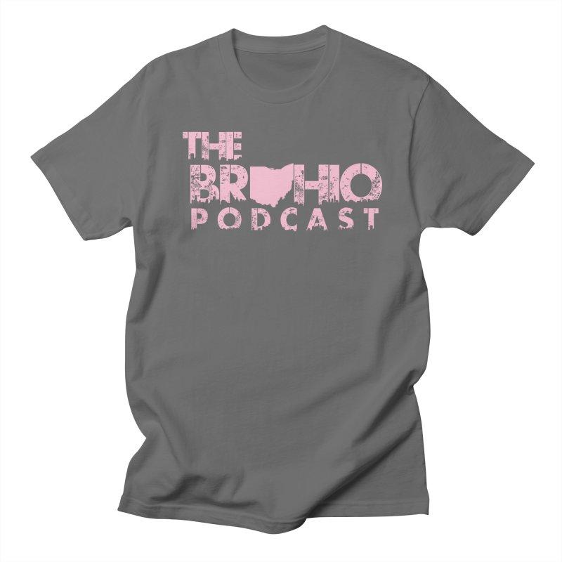 Pink logo Men's T-Shirt by Brohio Merch