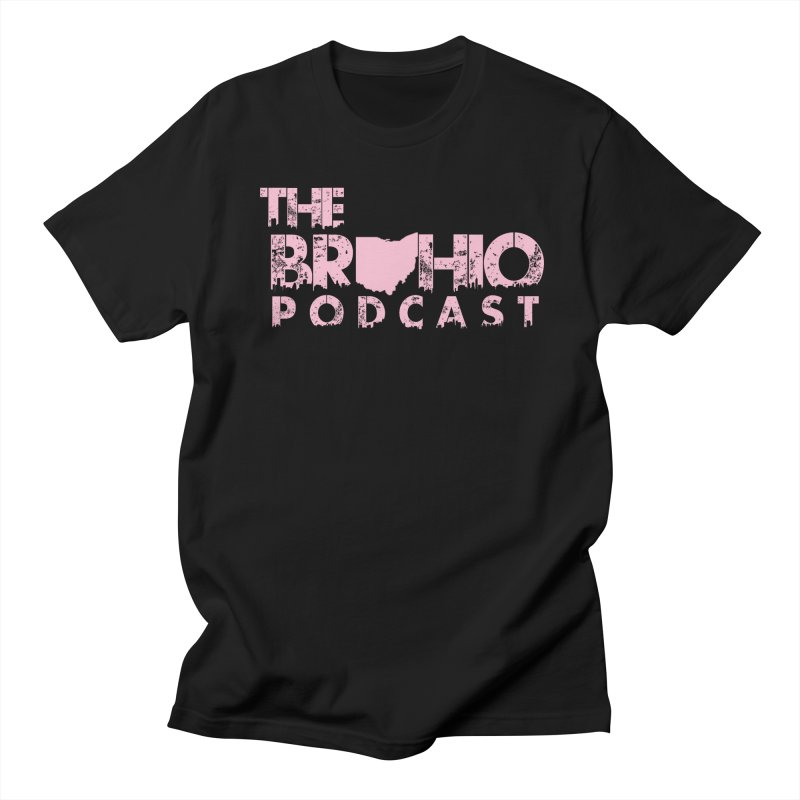 Pink logo Men's Regular T-Shirt by Brohio Merch