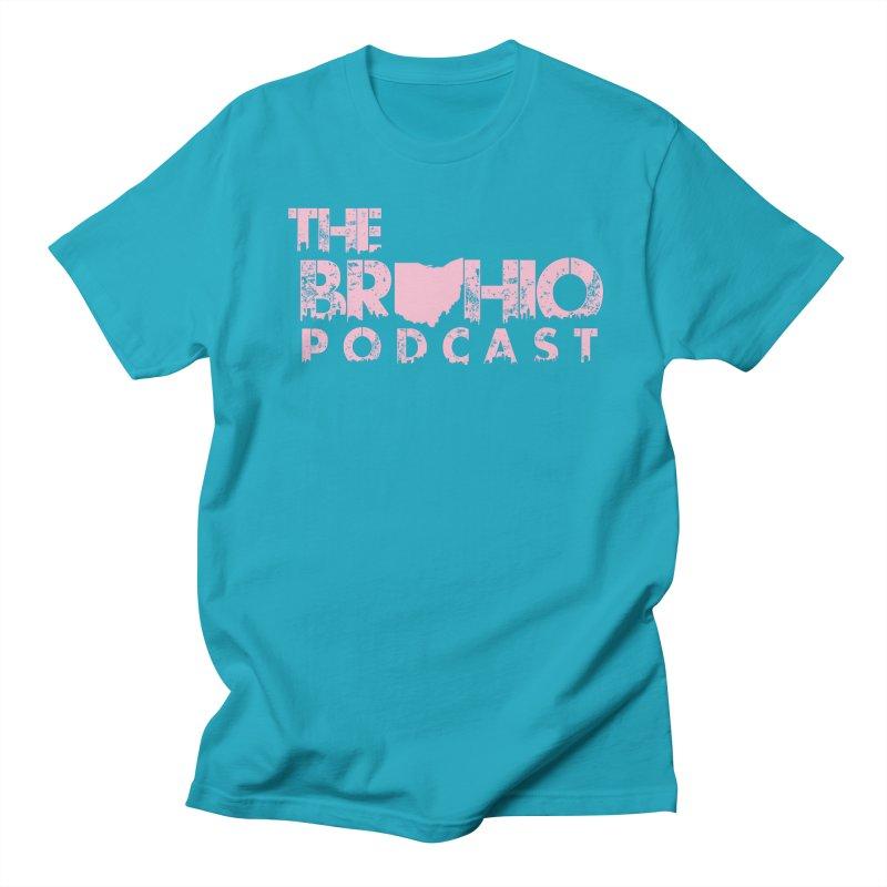 Pink logo Men's Regular T-Shirt by Brohio Merch