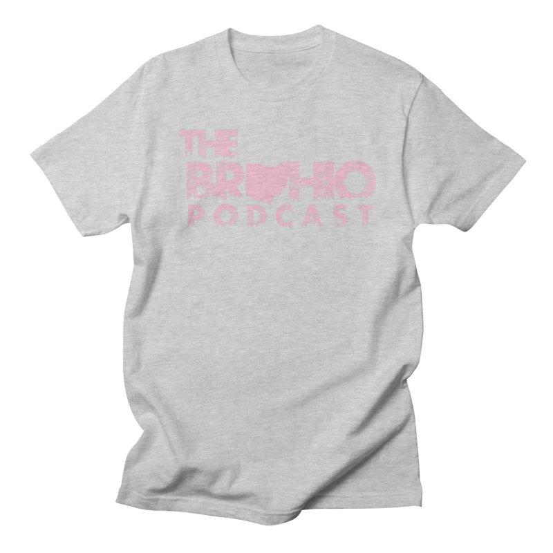 Pink logo Women's Unisex T-Shirt by Brohio Merch