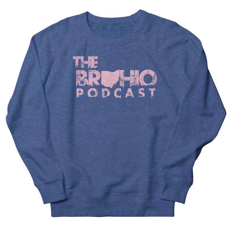Pink logo Men's Sweatshirt by Brohio Merch