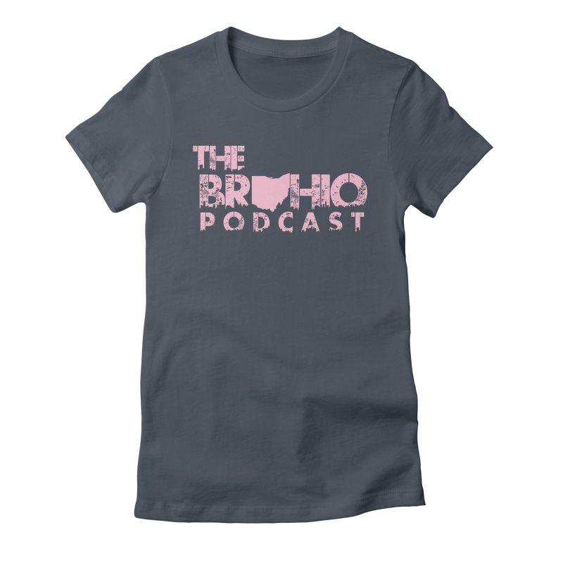 Pink logo Women's T-Shirt by Brohio Merch