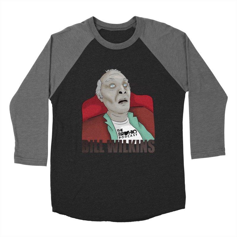 Bill F'n Wilkins Men's Baseball Triblend Longsleeve T-Shirt by Brohio Merch