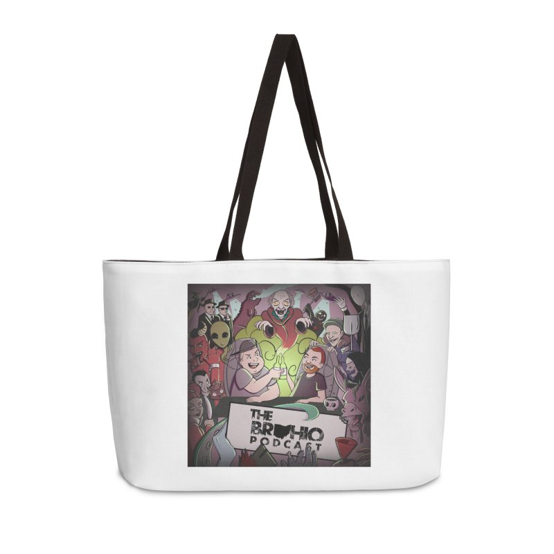 Cover Art Accessories Weekender Bag Bag by Brohio Merch
