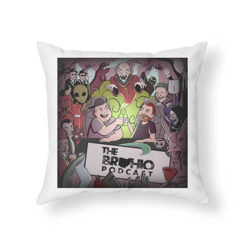 Cover Art Home Throw Pillow by Brohio Merch