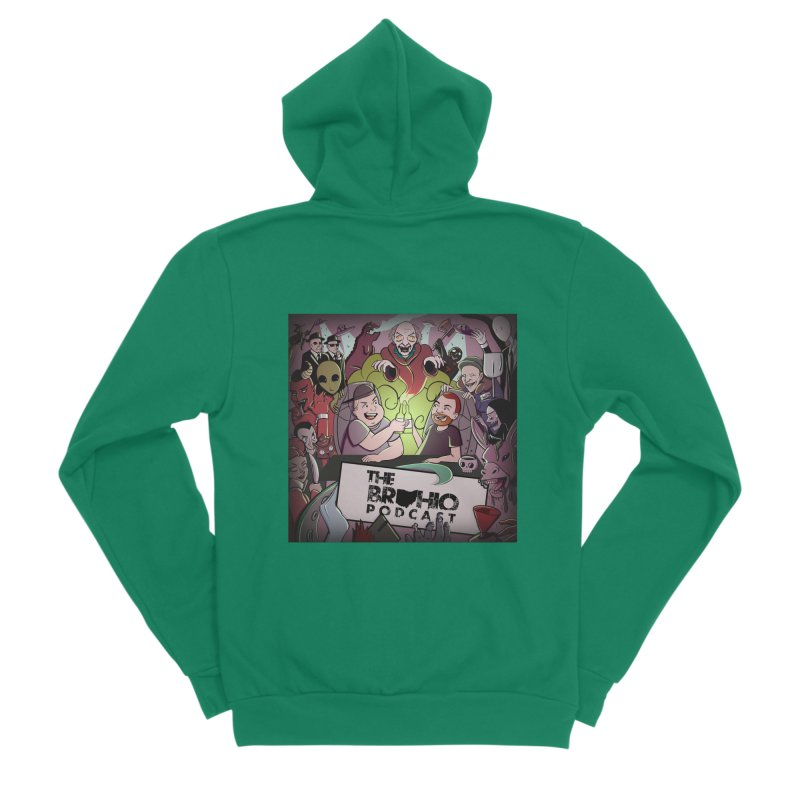 Cover Art Men's Sponge Fleece Zip-Up Hoody by Brohio Merch