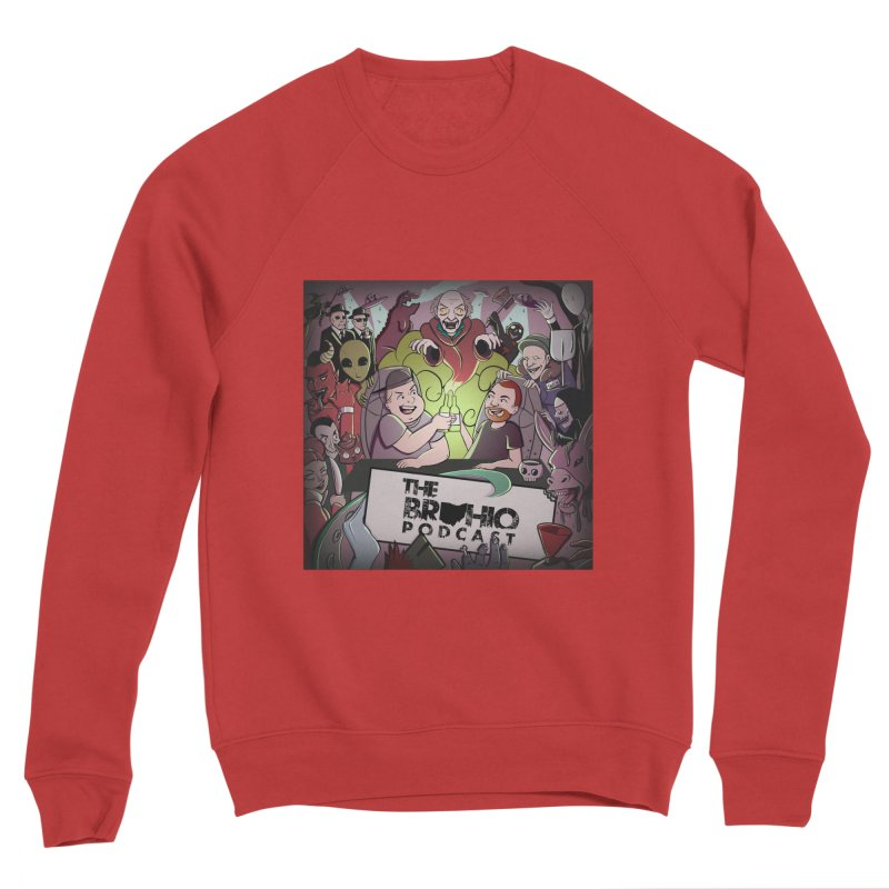 Cover Art Women's Sponge Fleece Sweatshirt by Brohio Merch