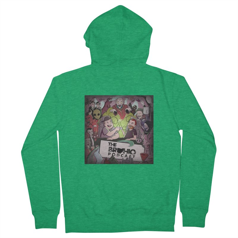 Cover Art Men's Zip-Up Hoody by Brohio Merch