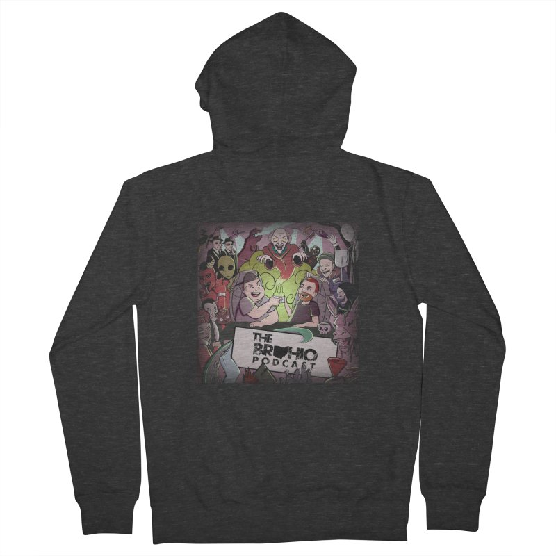 Cover Art Men's French Terry Zip-Up Hoody by Brohio Merch