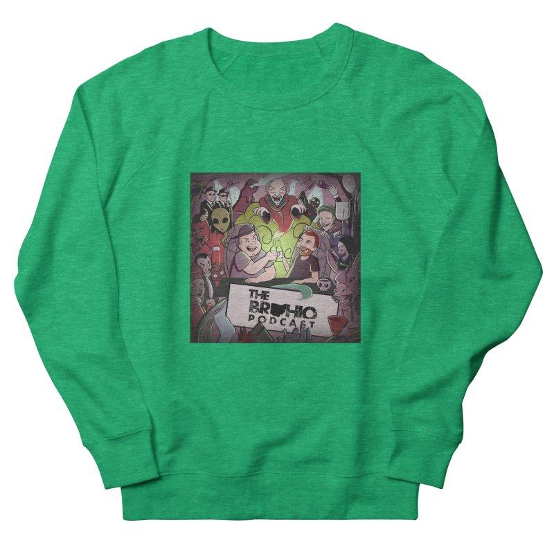 Cover Art Women's French Terry Sweatshirt by Brohio Merch