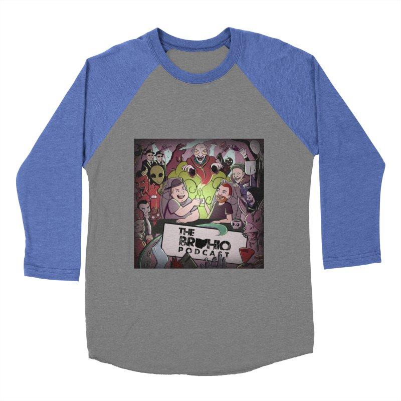 Cover Art Men's Baseball Triblend Longsleeve T-Shirt by Brohio Merch