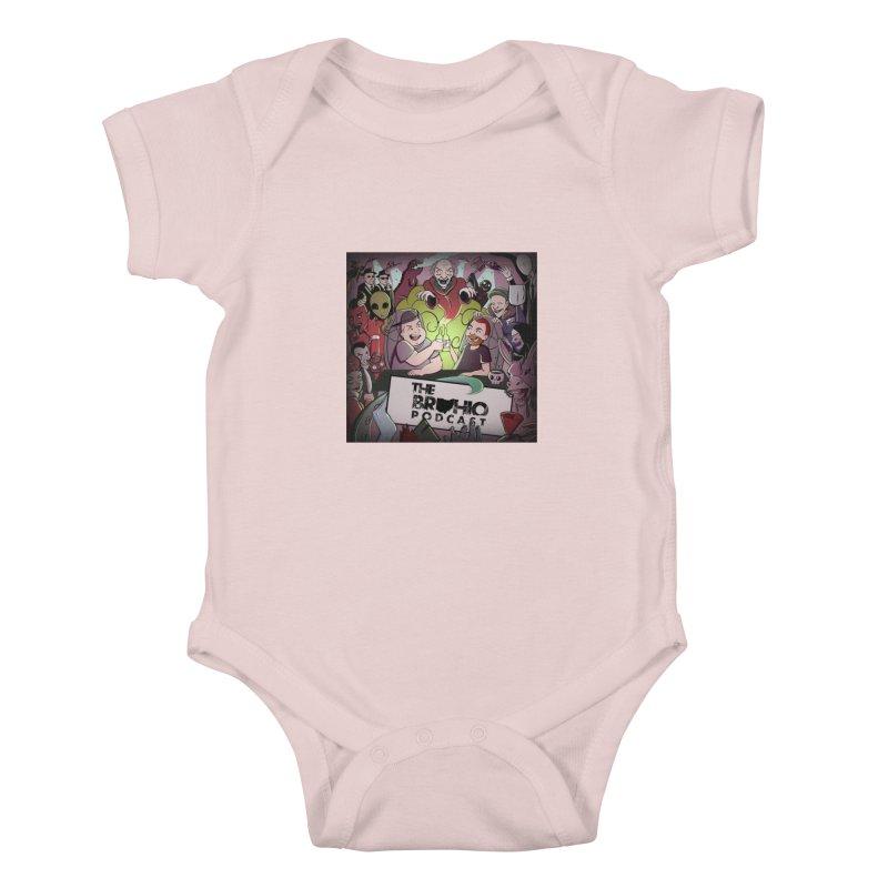 Cover Art Kids Baby Bodysuit by Brohio Merch
