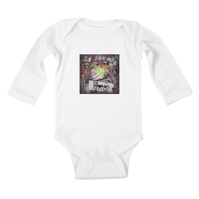 Cover Art Kids Baby Longsleeve Bodysuit by Brohio Merch