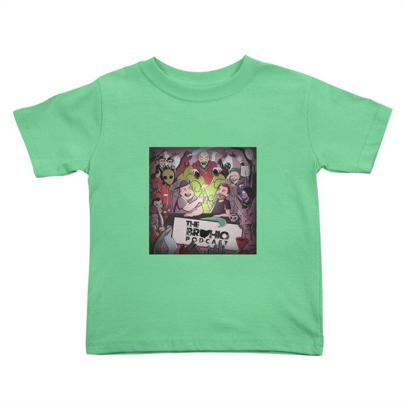 Cover Art Kids Toddler T-Shirt by Brohio Merch