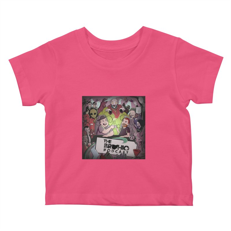 Cover Art Kids Baby T-Shirt by Brohio Merch