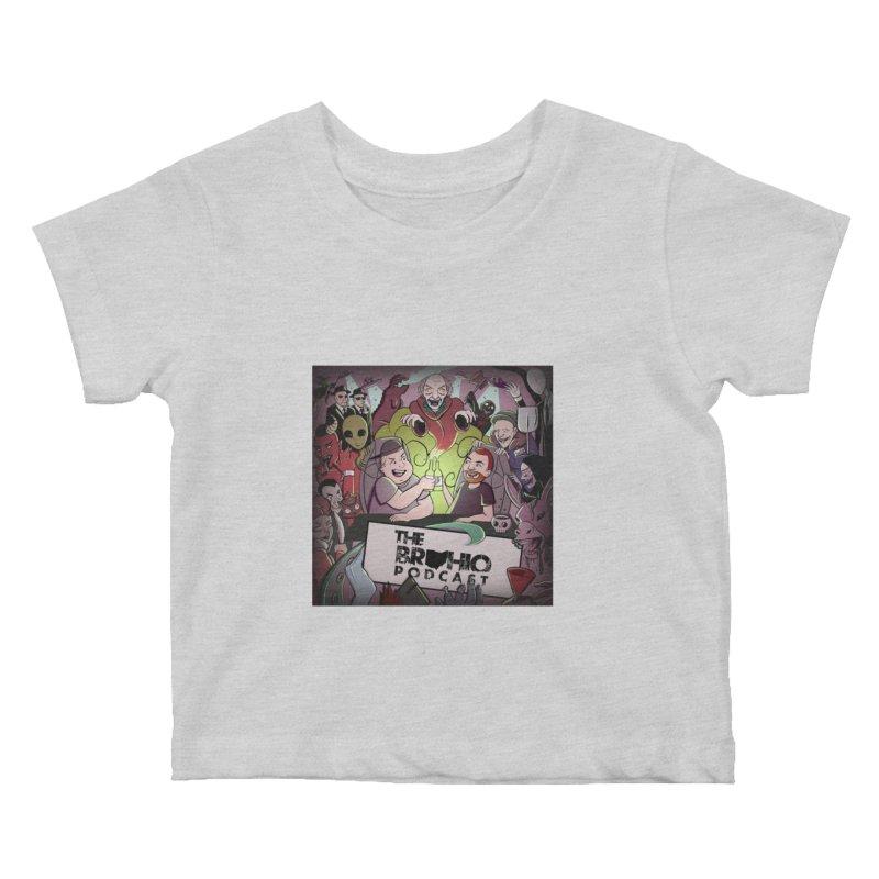 Cover Art Kids Baby T-Shirt by Brohio Merch