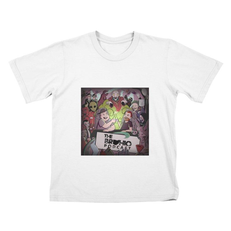 Cover Art Kids T-Shirt by Brohio Merch