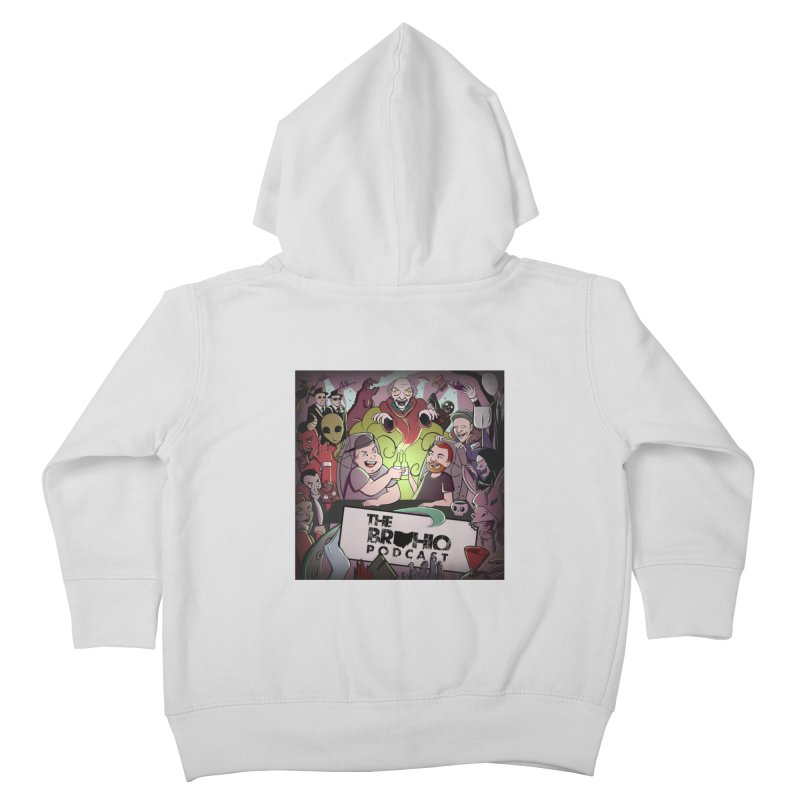 Cover Art Kids Toddler Zip-Up Hoody by Brohio Merch