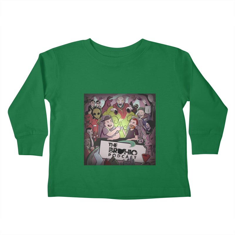 Cover Art Kids Toddler Longsleeve T-Shirt by Brohio Merch