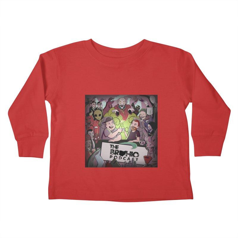 Cover Art Kids Toddler Longsleeve T-Shirt by Brohio Merch