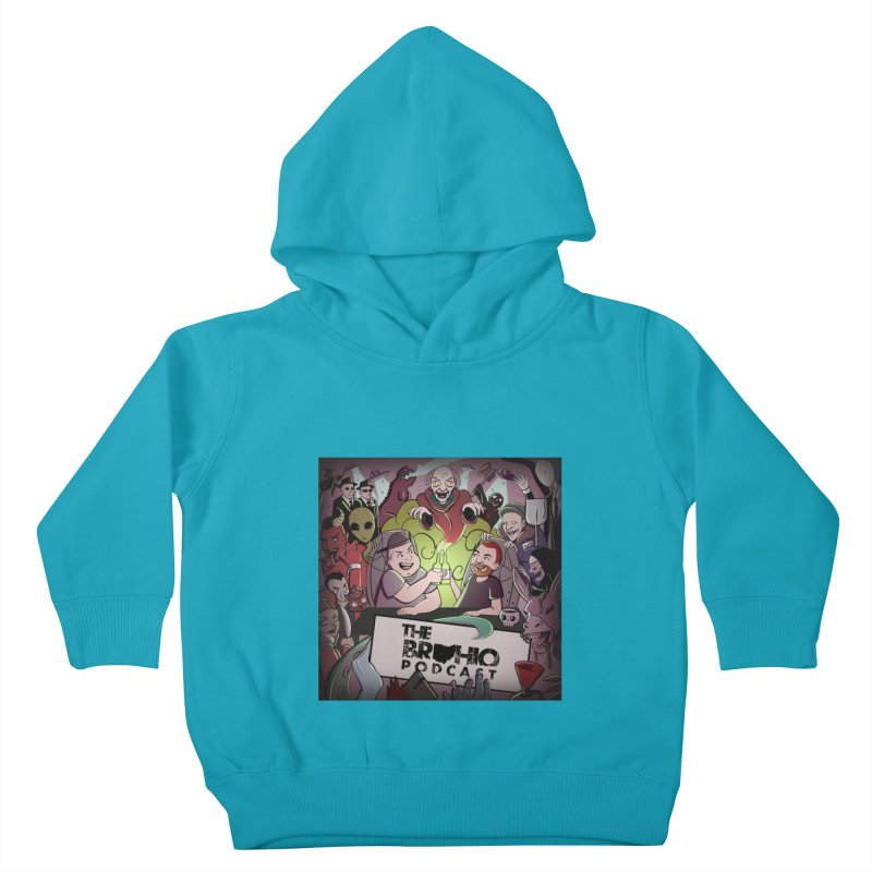 Cover Art Kids Toddler Pullover Hoody by Brohio Merch