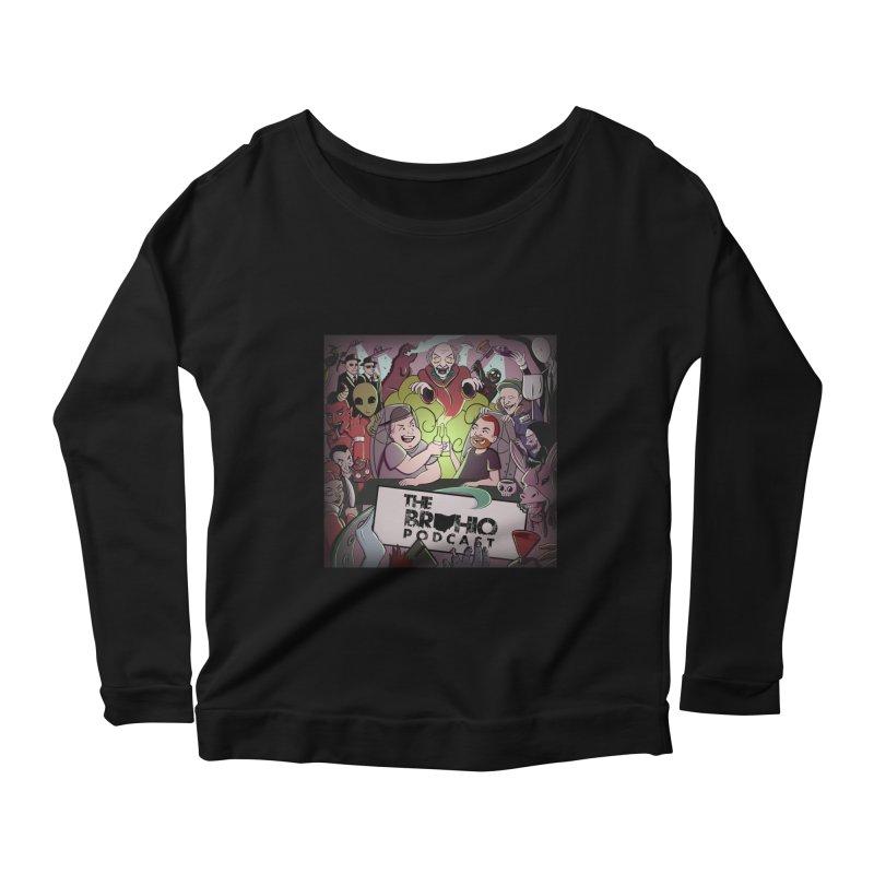 Cover Art Women's Scoop Neck Longsleeve T-Shirt by Brohio Merch