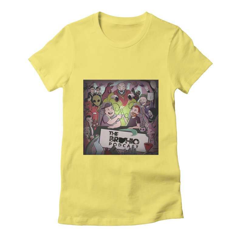 Cover Art Women's Fitted T-Shirt by Brohio Merch