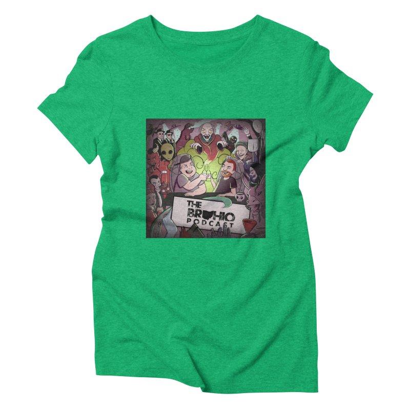 Cover Art Women's Triblend T-Shirt by Brohio Merch