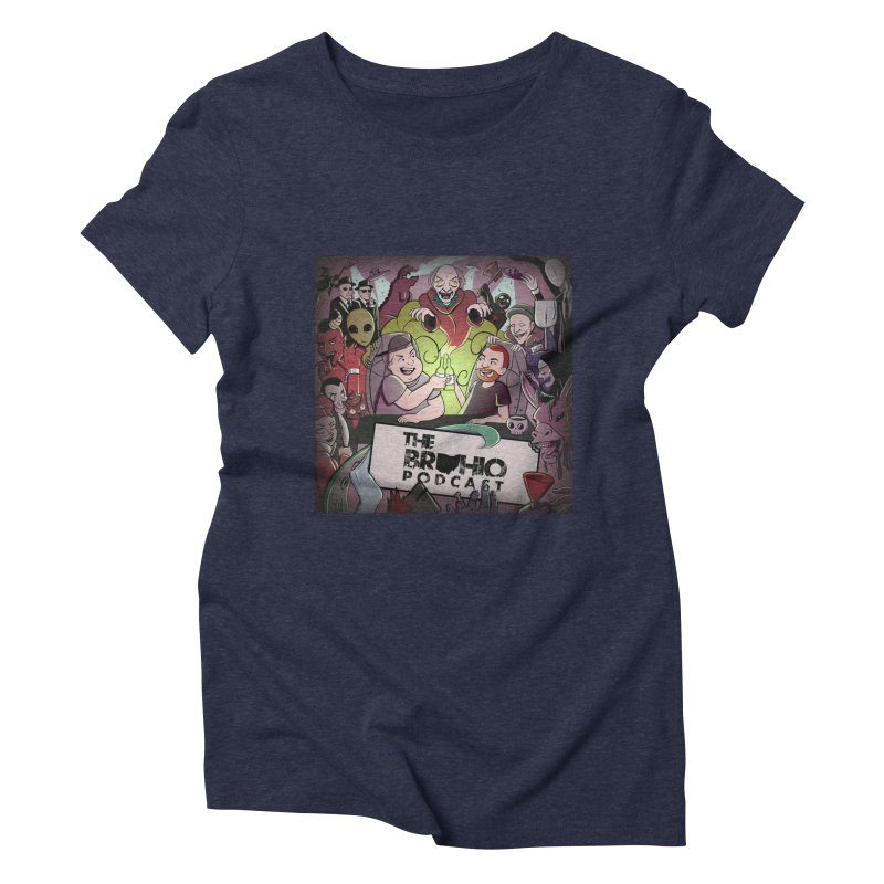 Cover Art Women's Triblend T-Shirt by Brohio Merch