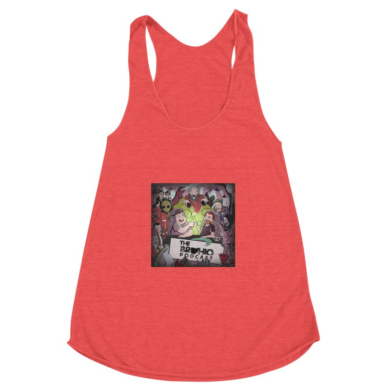 Cover Art Women's Racerback Triblend Tank by Brohio Merch