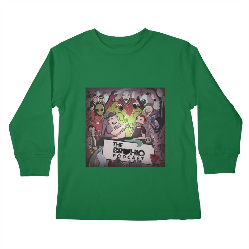 Cover Art Kids Longsleeve T-Shirt by Brohio Merch