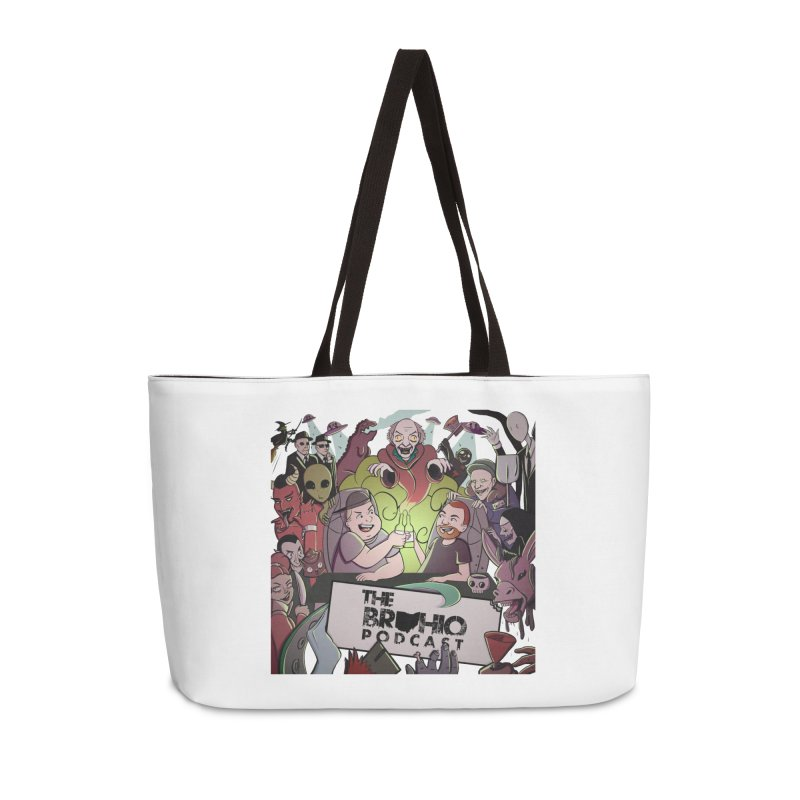 The whole gang with no background Accessories Weekender Bag Bag by Brohio Merch