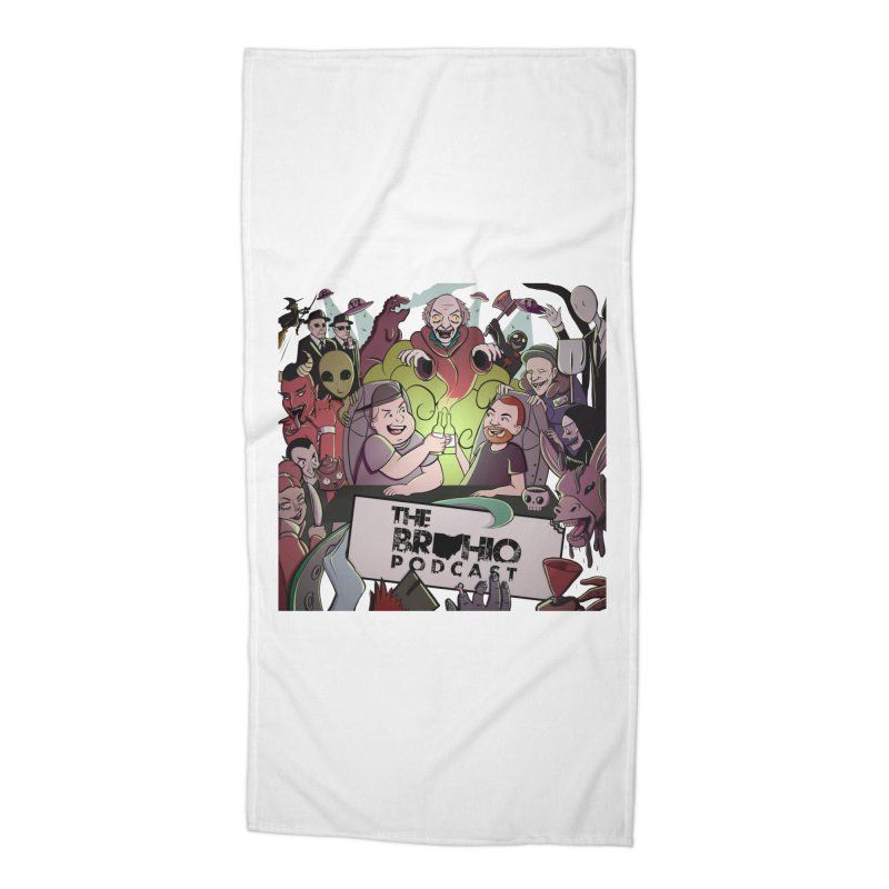 The whole gang with no background Accessories Beach Towel by Brohio Merch