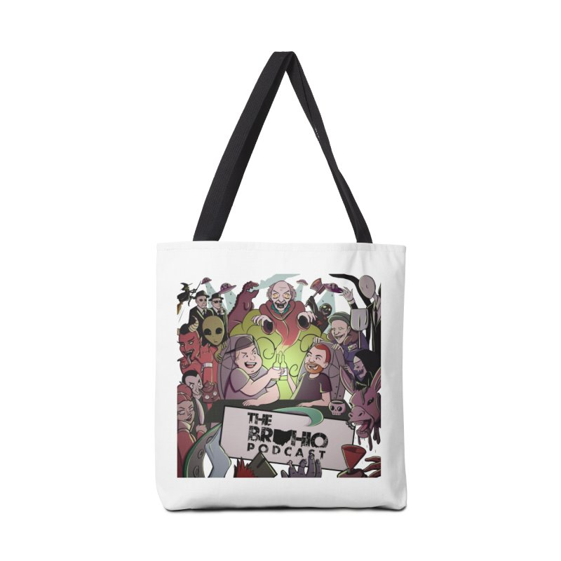 The whole gang with no background Accessories Tote Bag Bag by Brohio Merch